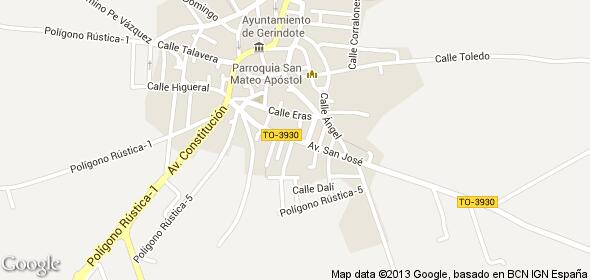 Imagen de Gerindote mapa 45518 3