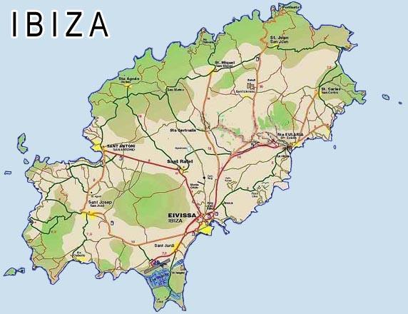 Imagen de Ibiza mapa 07800 3