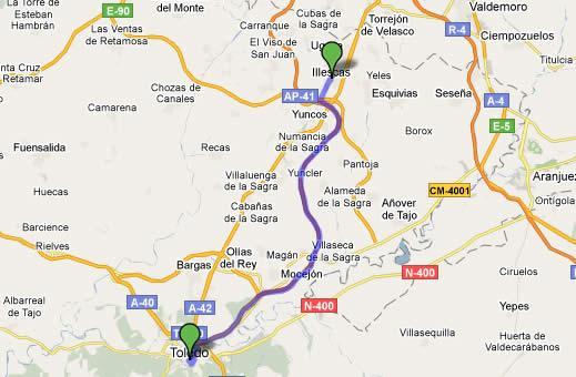 Imagen de Illescas mapa 45200 2