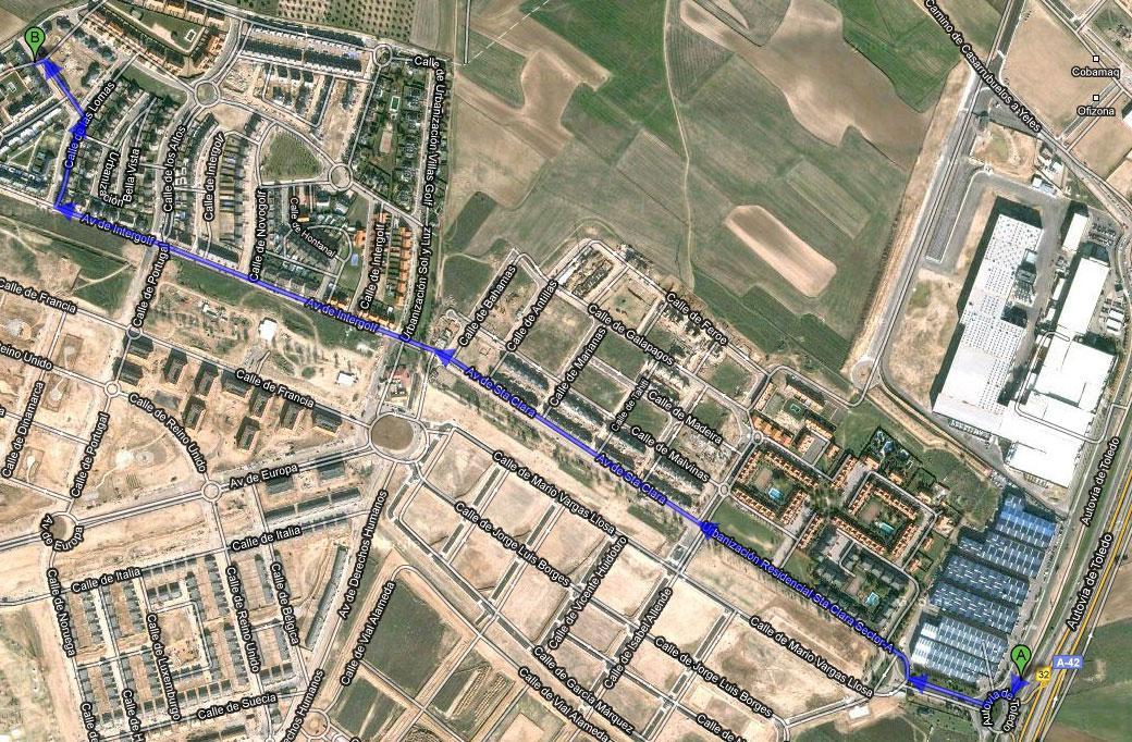 Imagen de Illescas mapa 45200 5