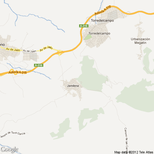 JAéN : latitud, longitud, mapa y Código Postal de Jaén ...
