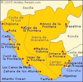 Cartina Jerez De La Frontera.Practica 3 Pueblos Andaluces De Interior Jerez De La Frontera Jerez De La Frontera Cadiz