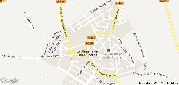 50100 código postal de La Almunia de Doña Godina
