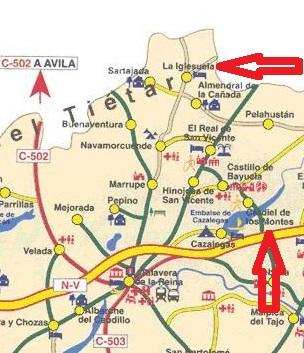 Imagen de La Iglesuela mapa 45633 2