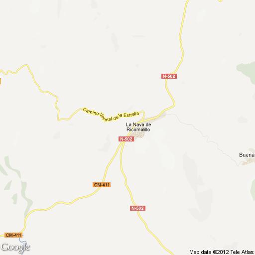 Imagen de La Nava de Ricomalillo mapa 45670 1
