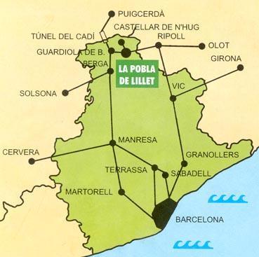 Imagen de La Pobla de Lillet mapa 08696 1