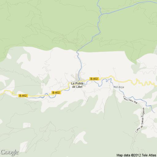 Imagen de La Pobla de Lillet mapa 08696 2