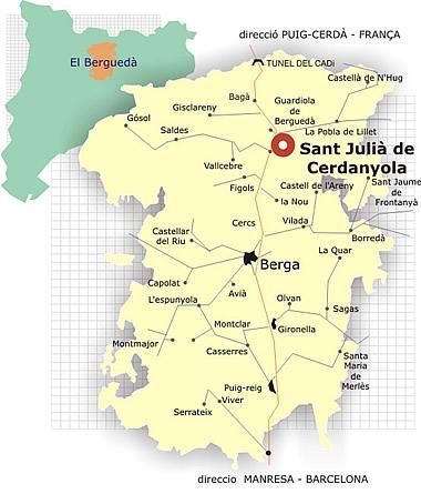 Imagen de La Pobla de Lillet mapa 08696 5