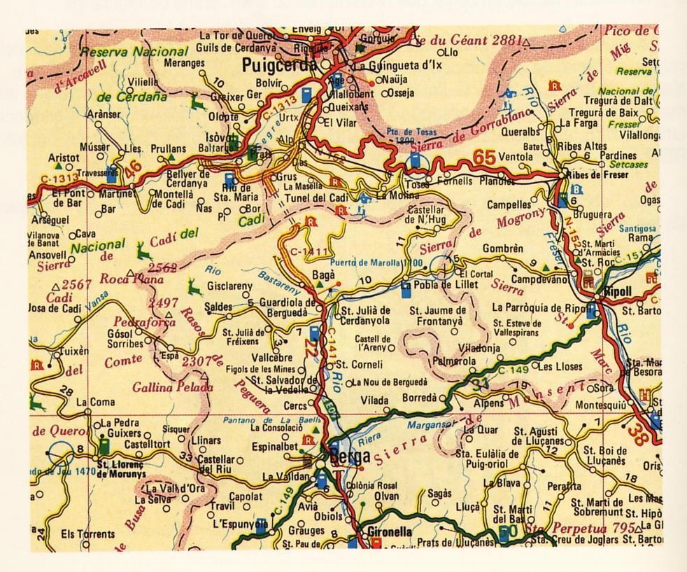 Imagen de La Pobla de Lillet mapa 08696 6