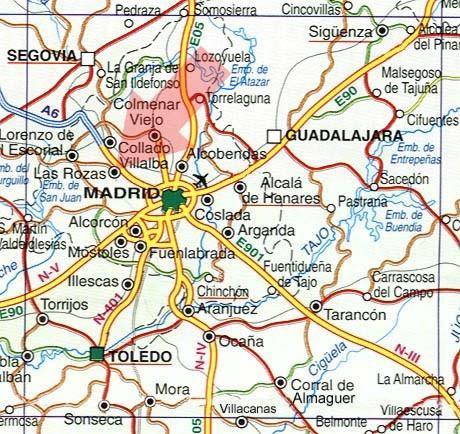 Las Rozas Madrid Mapa.28290 Codigo Postal De Las Rozas