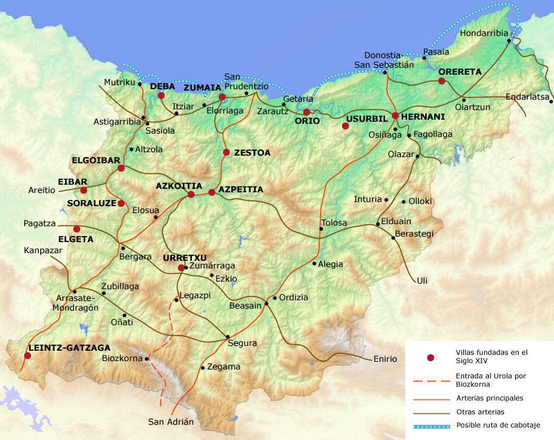 20530 c digo postal de leintz gatzaga - El tiempo para manana en san sebastian guipuzcoa ...