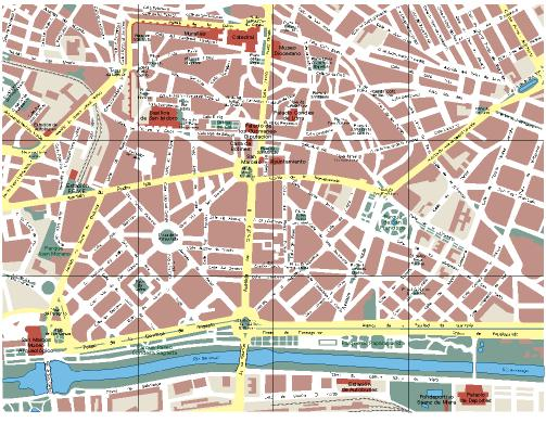 Mapa turistico leon my blog for Codigo postal del barrio de salamanca en madrid