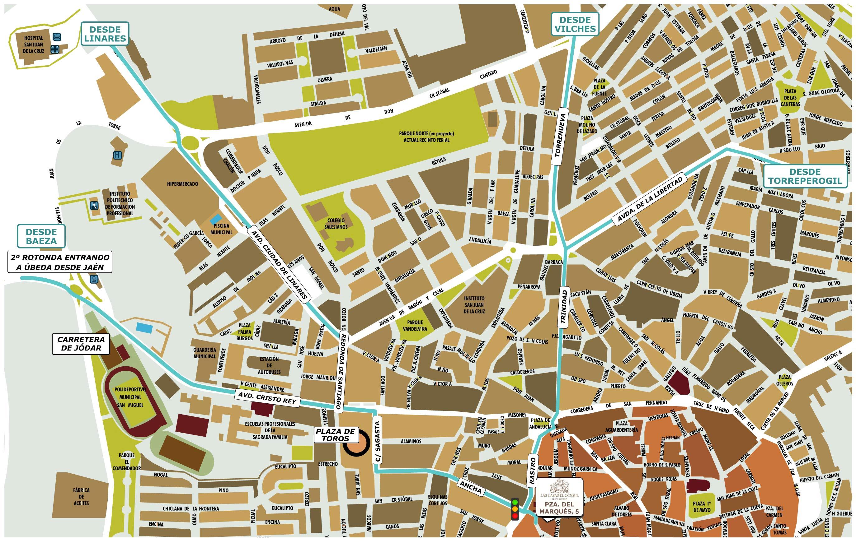 Imagen de Linares mapa 23700 3