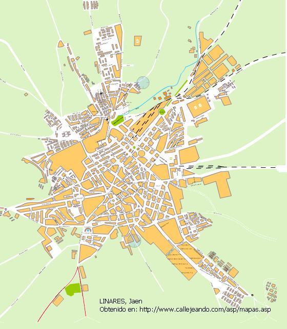 Imagen de Linares mapa 23700 6