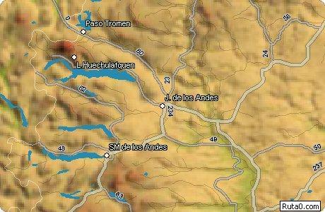 Imagen de Los Andes mapa 47630 2