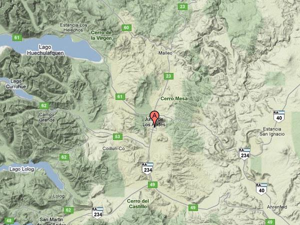 Imagen de Los Andes mapa 47630 5