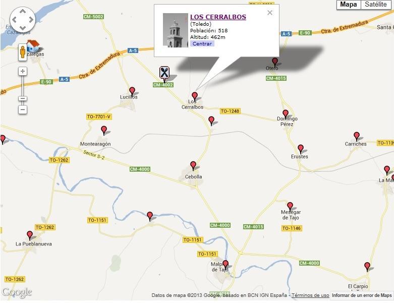 Imagen de Los Cerralbos mapa 45682 2