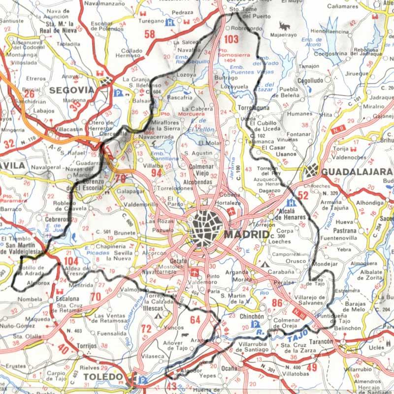 28460 c digo postal de los molinos for Codigos postales madrid capital
