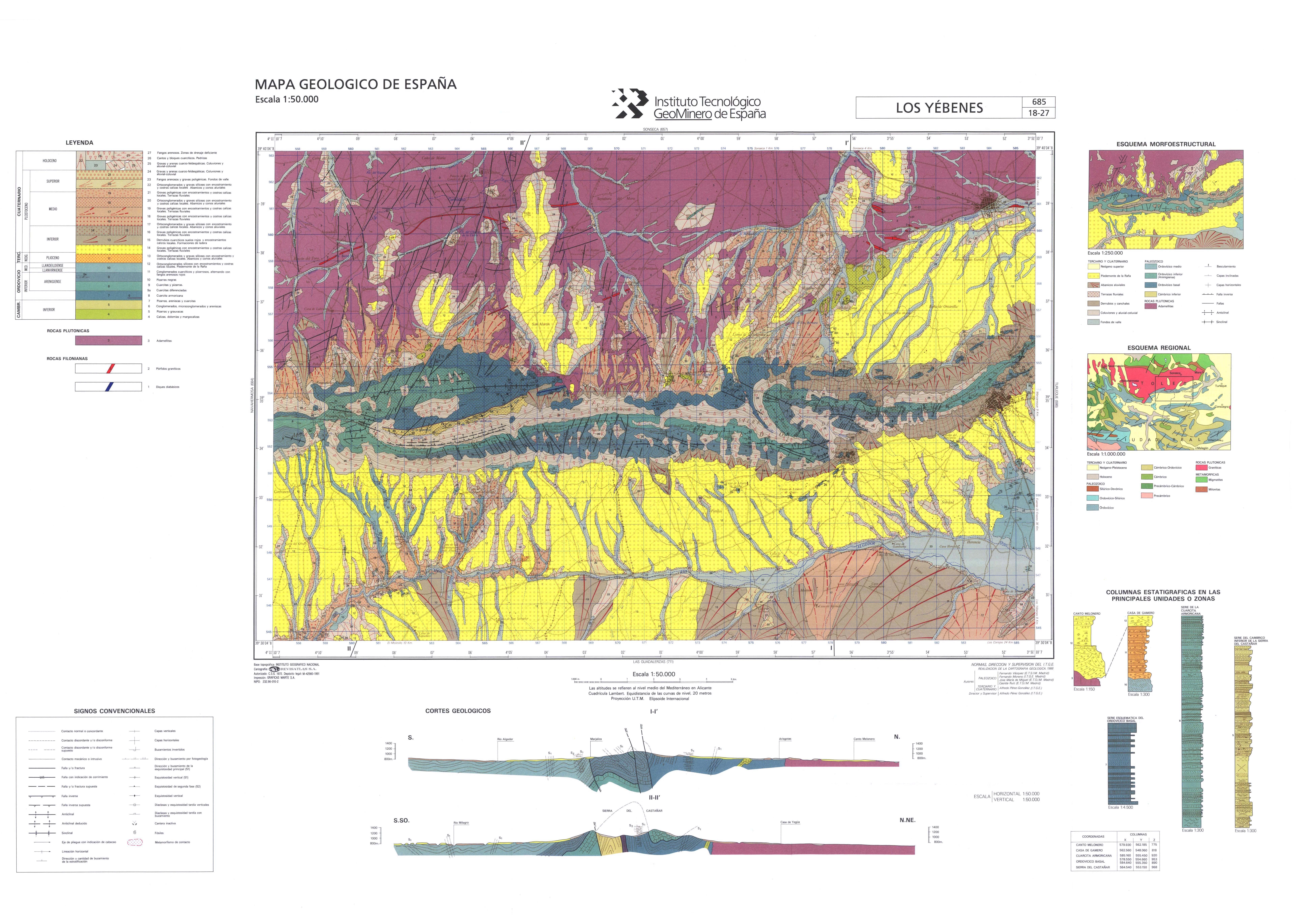 Imagen de Los Yébenes mapa 45470 4