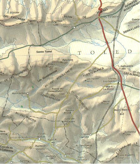 Imagen de Los Yébenes mapa 45470 5
