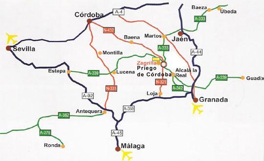 Imagen de Lucena mapa 14900 4