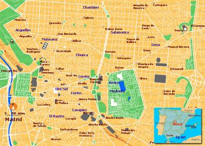 Imagen de Madrid mapa 28001 3