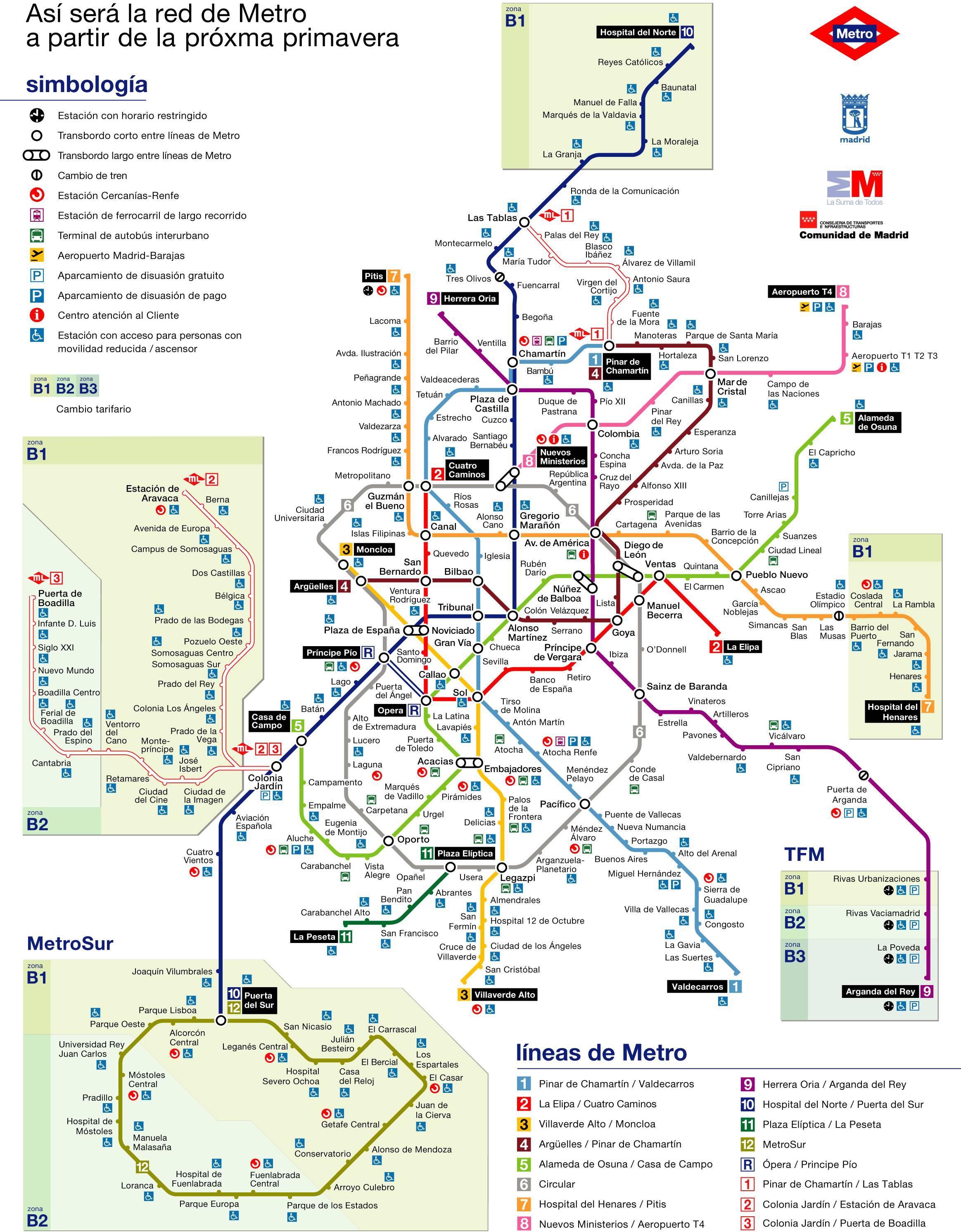 Imagen de Madrid mapa 28001 5