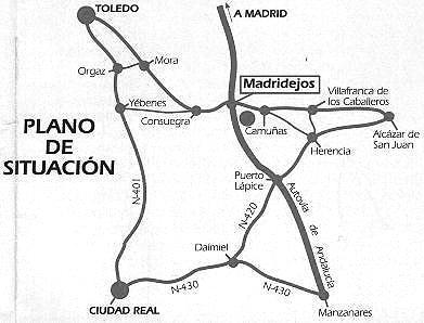 Imagen de Madridejos mapa 45710 6