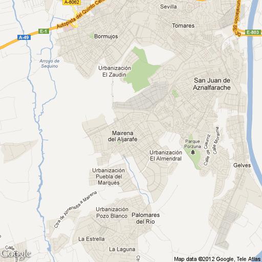 Mapa de mairena del aljarafe my blog - Vpo mairena del aljarafe ...