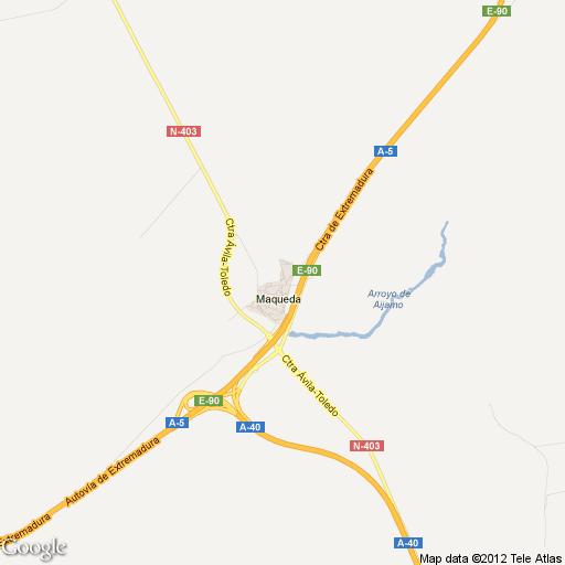 Imagen de Maqueda mapa 45515 5