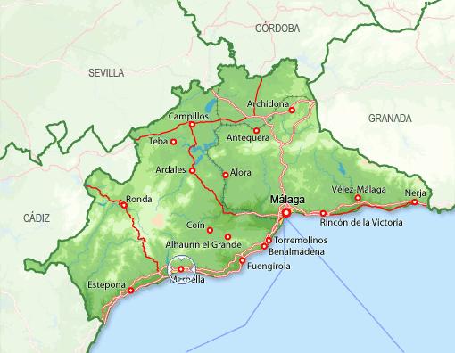 marbella mapa 29600 código postal de Marbella marbella mapa