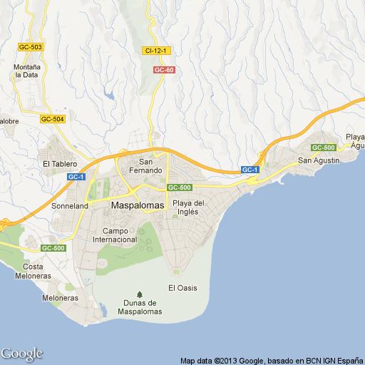 Imagen de Maspalomas mapa 35100 1