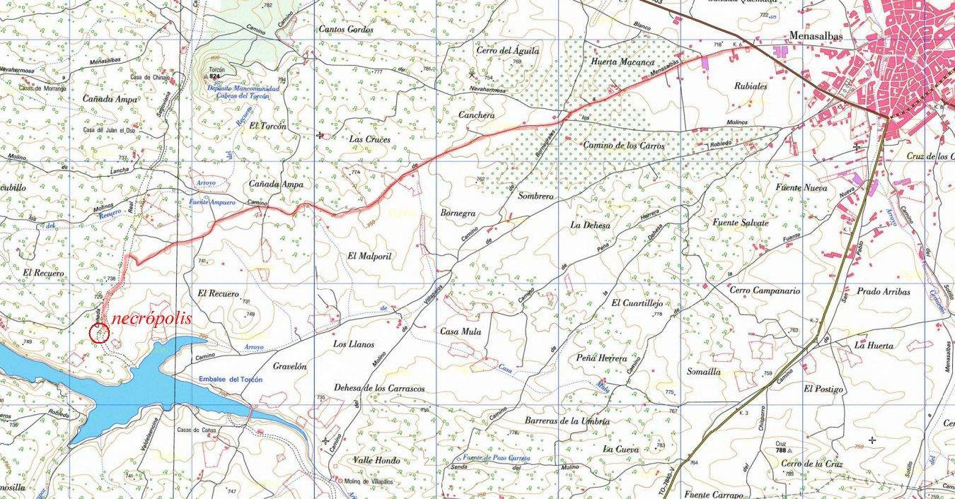 Imagen de Menasalbas mapa 45128 5