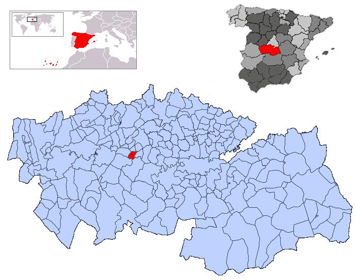 Imagen de Mesegar de Tajo mapa 45541 2