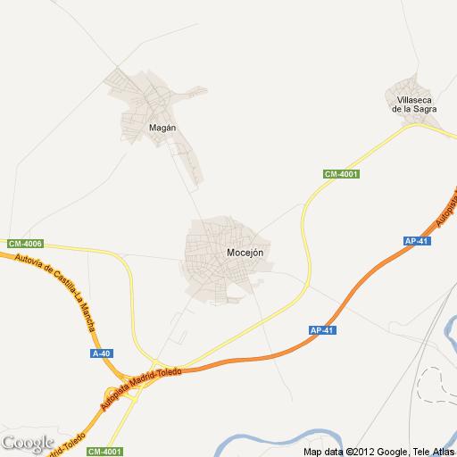Imagen de Mocejón mapa 45270 1