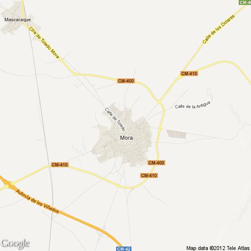 Imagen de Mora mapa 45400 1