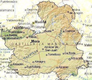 Imagen de Mora mapa 45400 4
