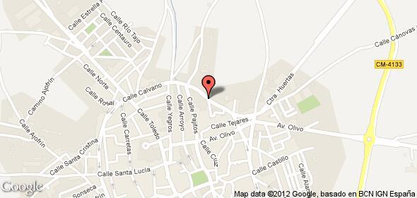 Imagen de Mora mapa 45400 5