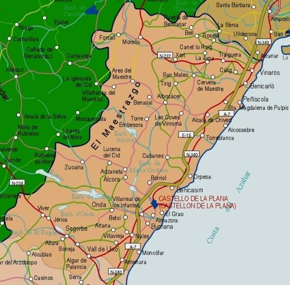 Imagen de Morella mapa 12300 3