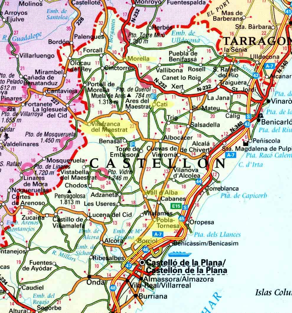 Imagen de Morella mapa 12300 4