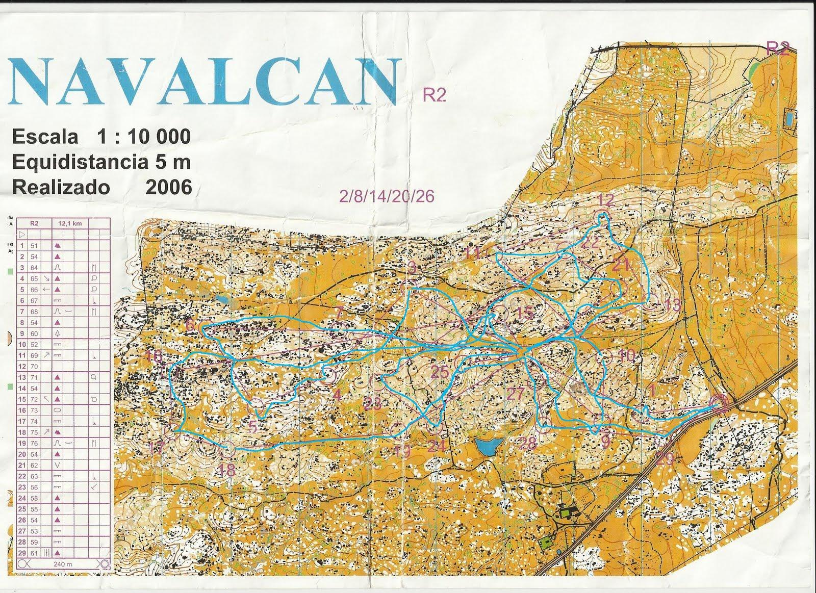 Imagen de Navalcán mapa 45610 2