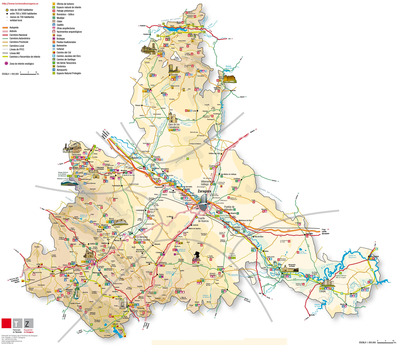 Imagen de Nonaspe mapa 50794 2