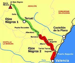 Imagen de Ojos Negros mapa 44313 5