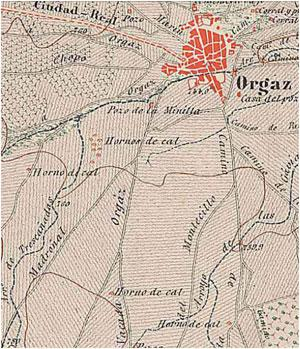 Imagen de Orgaz mapa 45450 4