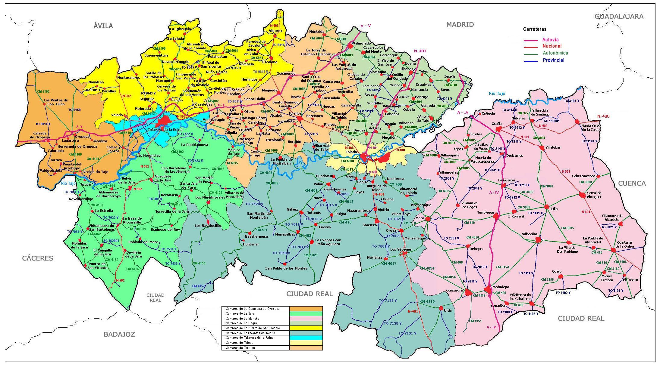Imagen de Orgaz mapa 45450 6