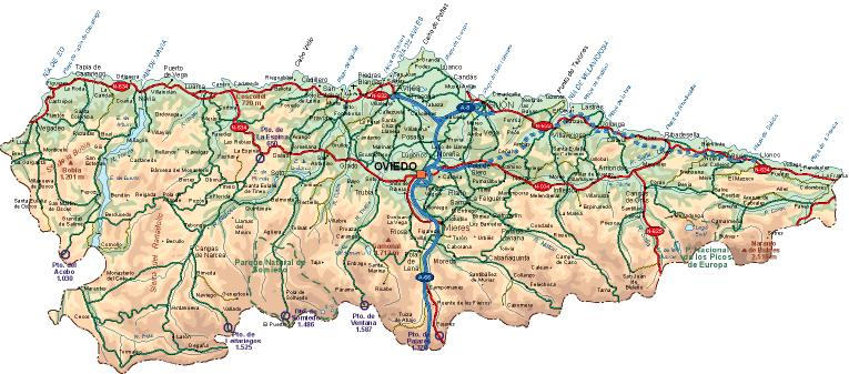 Imagen de Oviedo mapa 33001 5