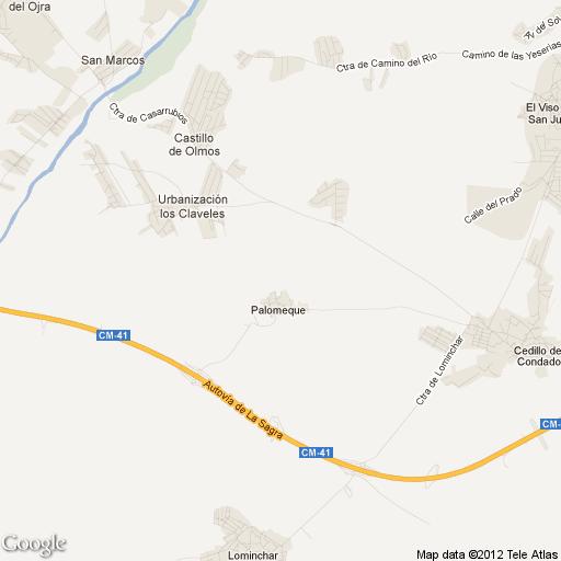 Imagen de Palomeque mapa 45213 1
