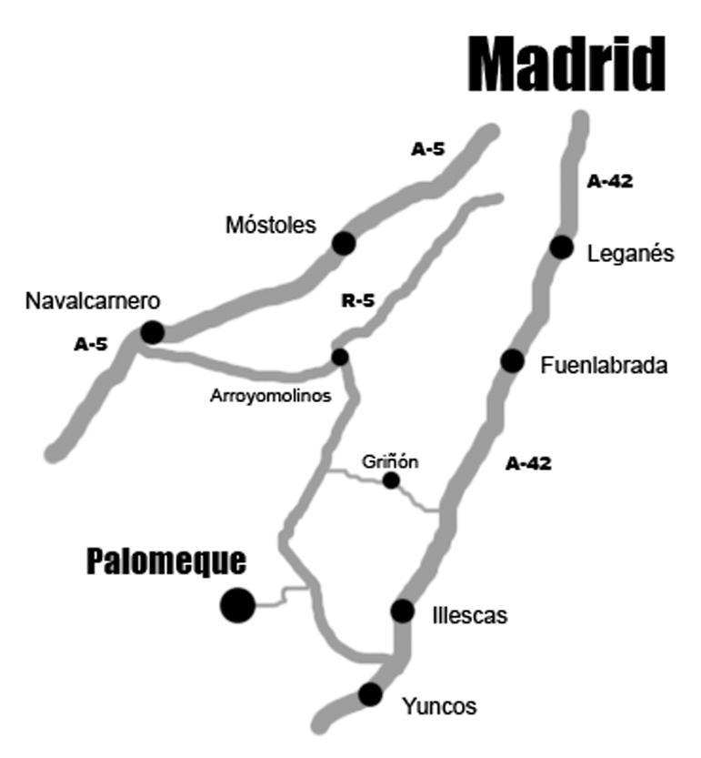 Imagen de Palomeque mapa 45213 5