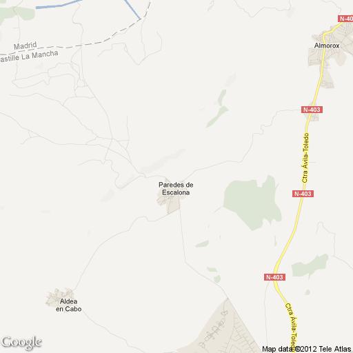 Imagen de Paredes de Escalona mapa 45908 1