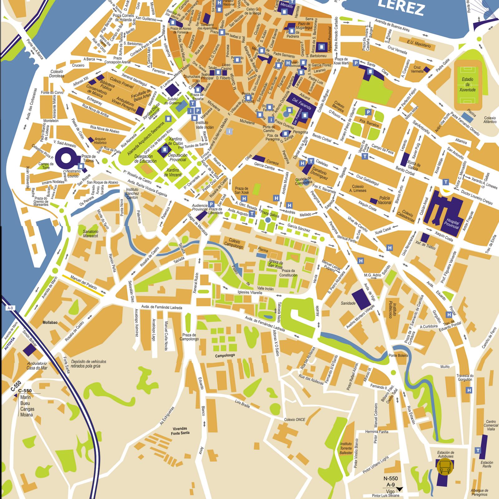 Imagen de Pontevedra mapa 36002 3